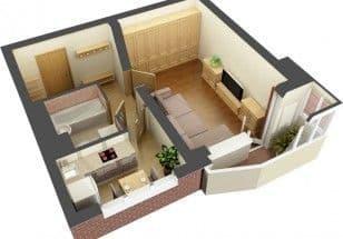 Маленькие квартиры в новостройках больше не пользуются спросом