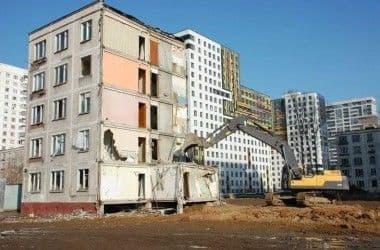 Новая программа по сносу пятиэтажек и переселению жильцов